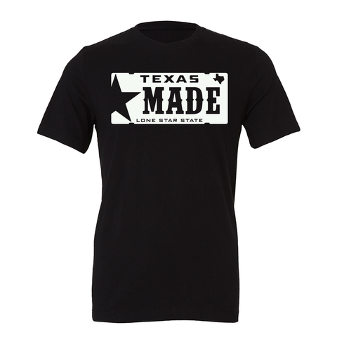 "HoggLife ""Texas Made"" Tee - Black/White"