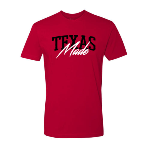 "HoggLife ""TX Made"" Tee - Red/Black/White"