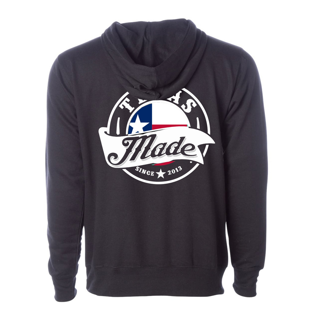 "HoggLife ""Texas Made v3"" Hoodie - Black/Multi"