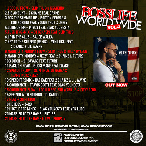 BossLife World Wide MIXTAPE VOL.4