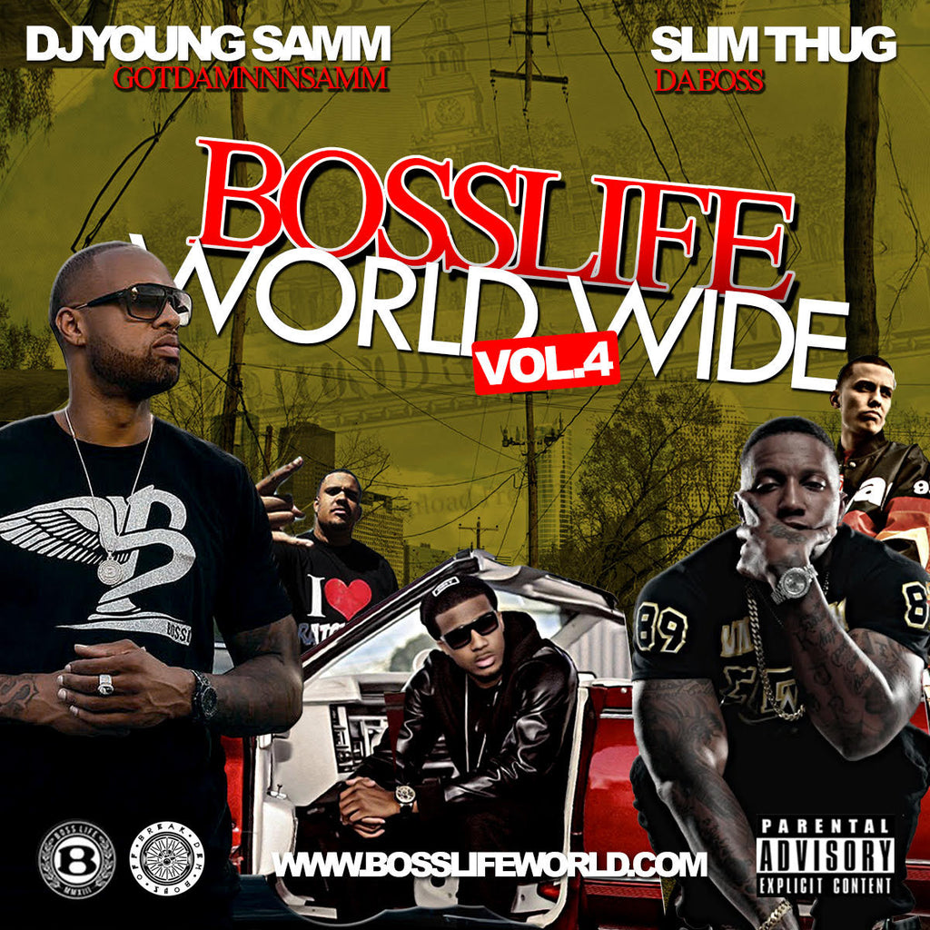 BossLife World Wide MIXTAPE VOL.4 - BossLifeWorld  - 1