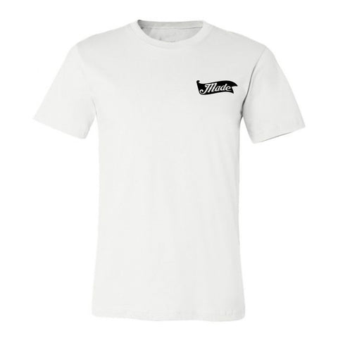 "HoggLife ""Texas Made v3"" Tee - White/Multi"