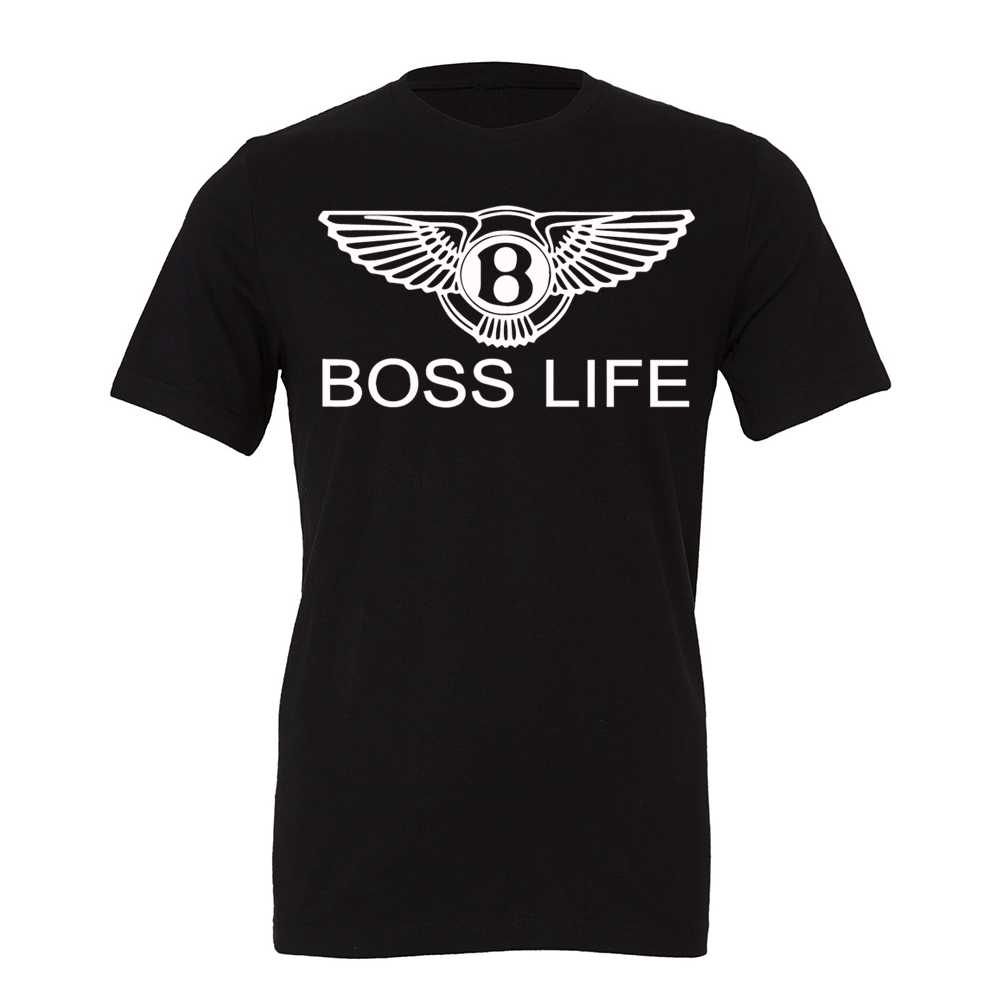 "BossLife ""OG Wings"" Tee - Black/White"