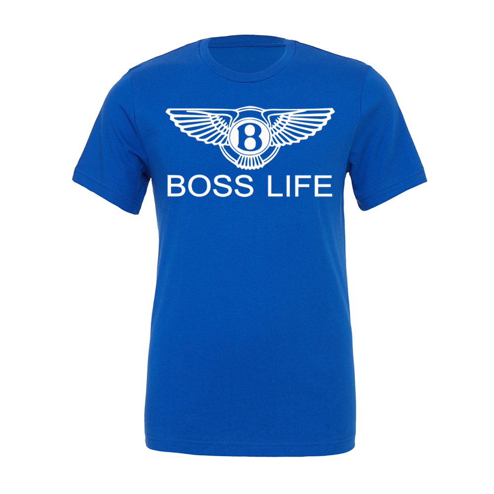 "BossLife ""OG Wings"" Tee - Royal/White"