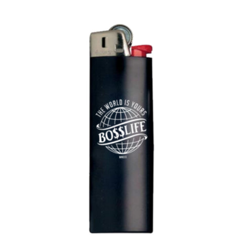 "BossLife ""World is Yours"" Lighter - Black/White"