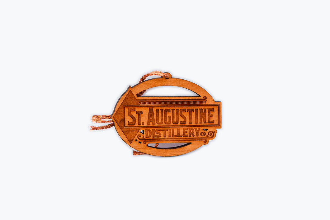 Wooden Christmas Ornament - Logo