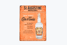 Load image into Gallery viewer, New World Gin & Tonic Sign