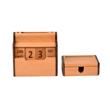 Calendar with Card & Penholder