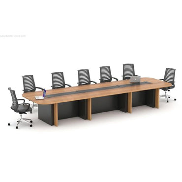 Mayline Wood Meeting Table