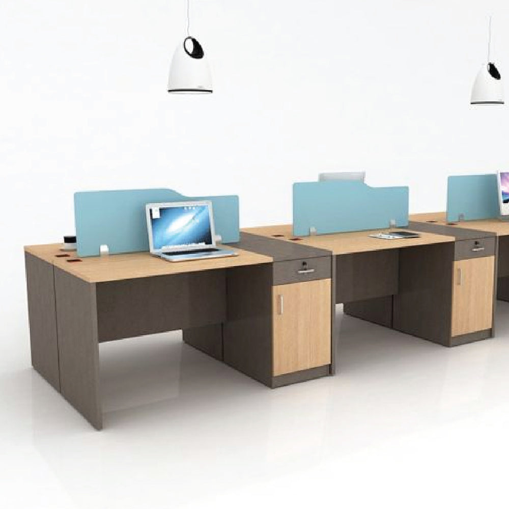 Octavus 6 person Office Workstation
