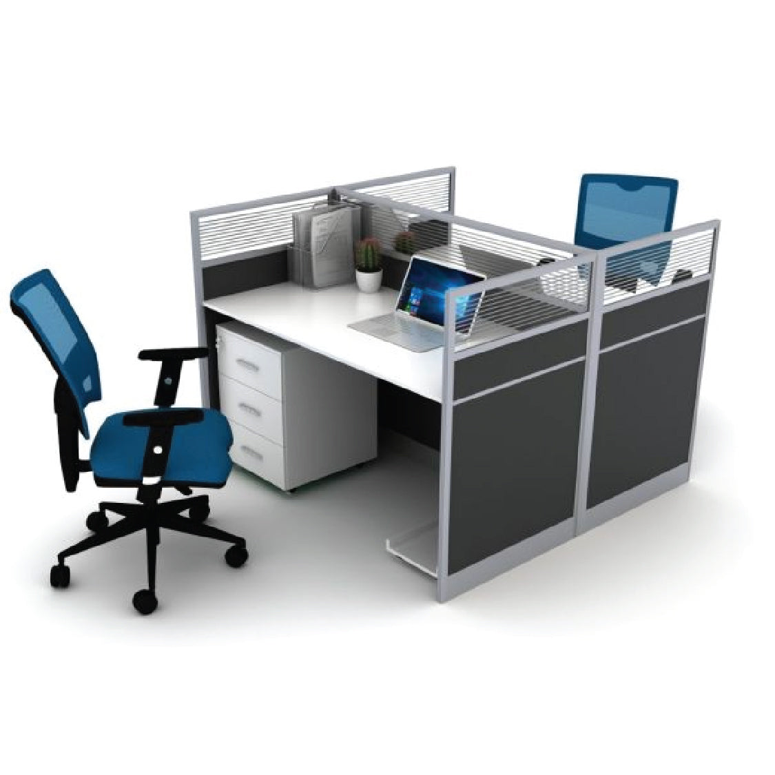 Harison Workstation with Drawers