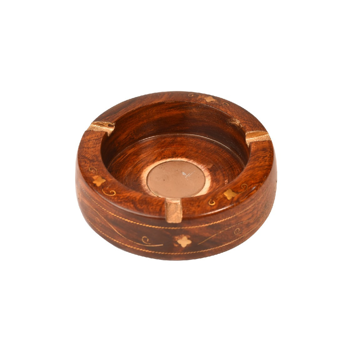 Handcrafted Wooden Ashtray