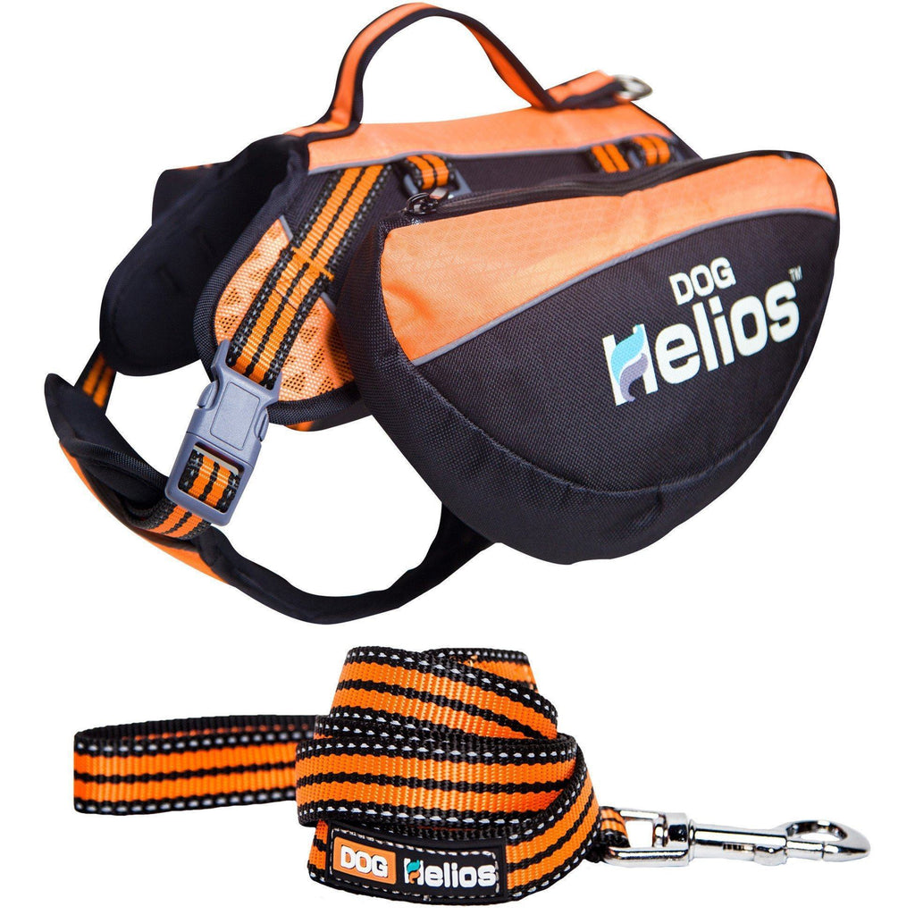Dog Helios ® Freestyle 3-in-1 Explorer Sporty Fashion Convertible Pet Dog Backpack Small Orange