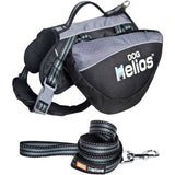 Dog Helios ® Freestyle 3-in-1 Explorer Sporty Fashion Convertible Pet Dog Backpack Small Black