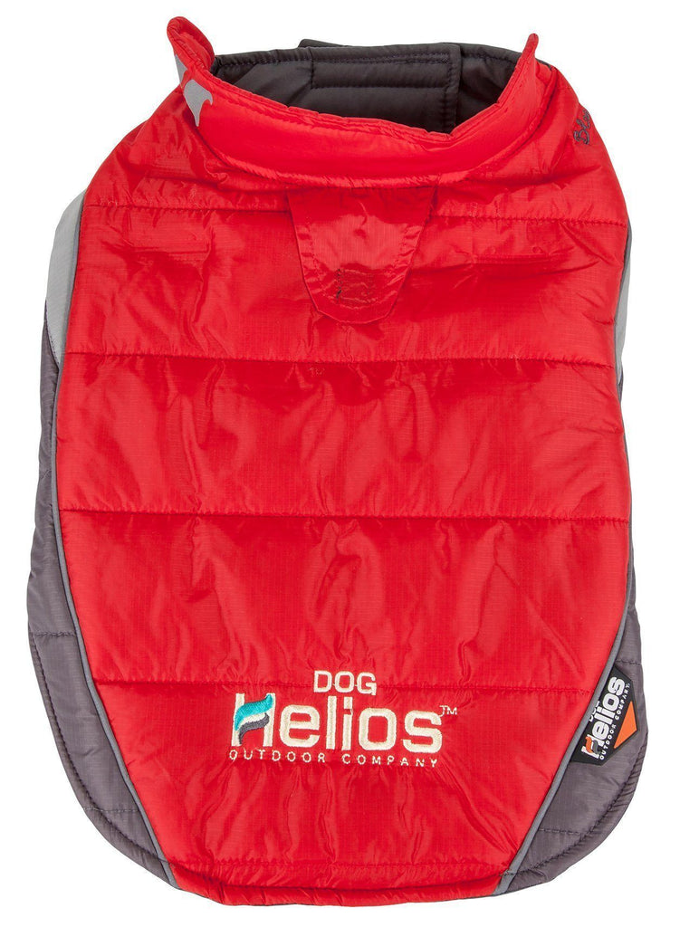 Dog Helios ® Hurricane-Waded Plush 3M Reflective Dog Coat w/ Blackshark technology