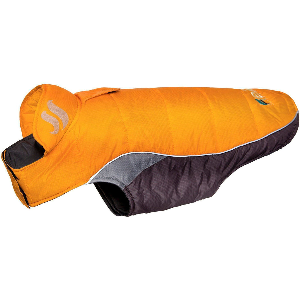 Dog Helios ® Hurricane-Waded Plush 3M Reflective Dog Coat w/ Blackshark technology X-Small Sporty Orange