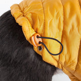 Pet Life ® Lightweight Adjustable and Collapsible 'Sporty Avalanche' Dog Coat w/ Pop-out Zippered Hood