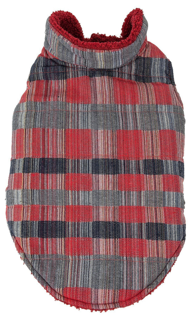 Pet Life ®  'Scotty' Tartan Classical Plaided Insulated Dog Coat Jacket X-Small