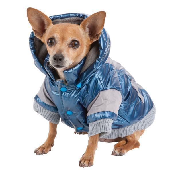 Pet Life ® 'Vintage Aspen' 3M Insulated Sporty Ski Dog Jacket w/ Removable Hood