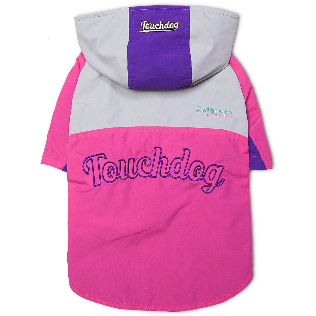 Touchdog ® Mount Pinnacle Insulated Fashion Designer Dog Ski Jacket Coat X-Small Pink