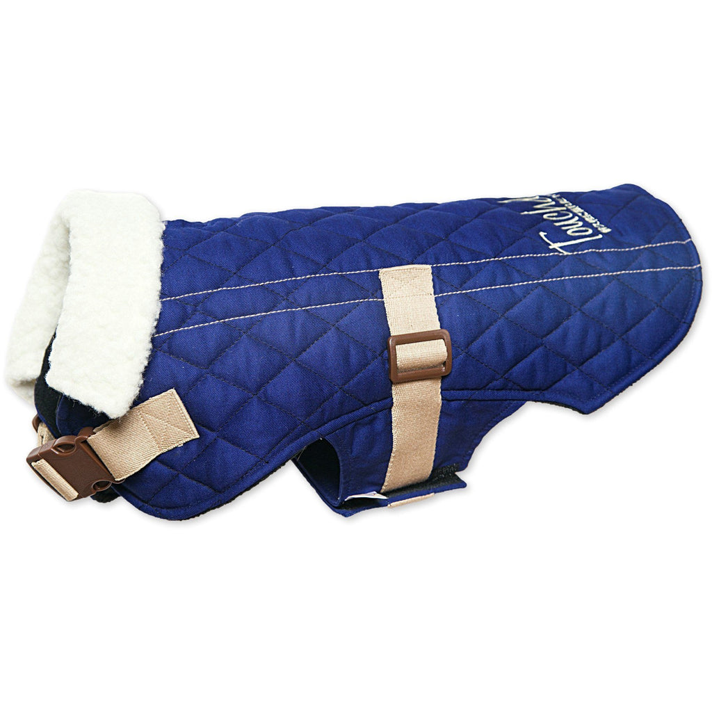 Touchdog ® Original Sherpa-Bark Designer Fashion-Forward Dog Coat X-Small Royal Blue
