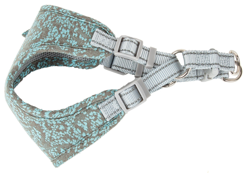Pet Life ®  'Fidomite' Mesh Reversible And Breathable Adjustable Dog Harness W/ Designer Bowtie