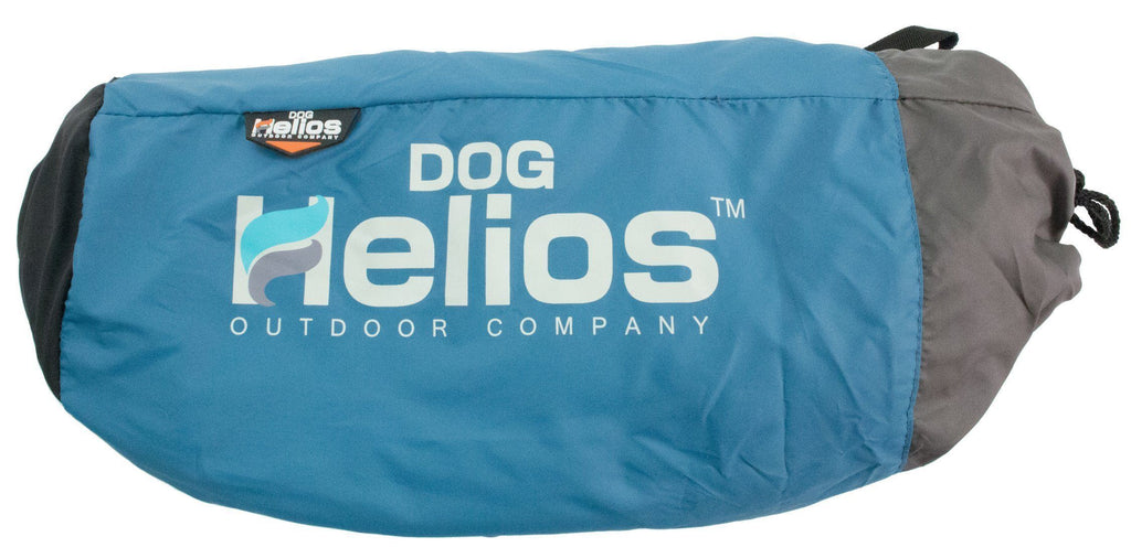 Dog Helios ® 'Combat-Terrain' Cordura-Nyco Reversible Nylon and Polar Fleece Travel Camping Folding Pet Dog Bed Mat
