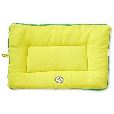 Pet Life ® 'Eco-Paw' Reversible Eco-Friendly Recyclabled Polyfill Fashion Designer Pet Dog Bed Mat Lounge