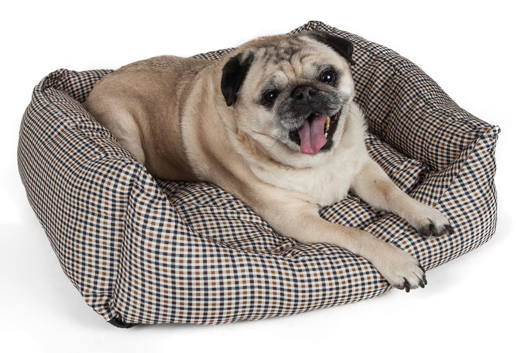 Pet Life ® 'Wick-Away' Wick-Proof Nano-Silver and Anti-Bacterial Water Resistant Rectangular Pet Dog Bed