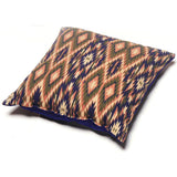 Touchdog ® '70's Vintage-Tribal' Throwback Convertible Squared 2-in-1 Collapsible Pet Dog Cat House Bed Lounge