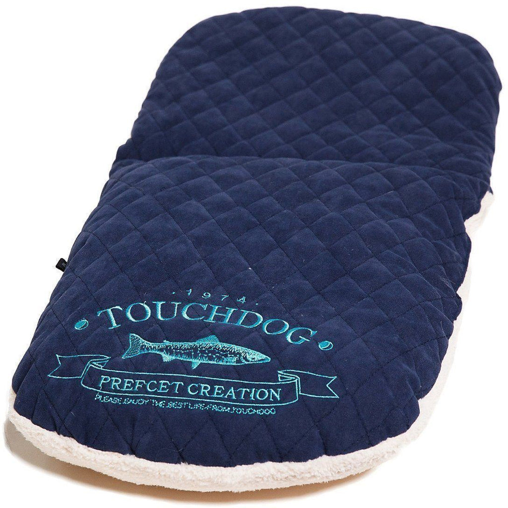 Touchdog ® 'Diamond Stitched' Active-Play Indoor Panoramic Fashion Designer Pet Dog Cat Bed w/ Teaser Toy