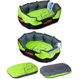 Touchdog ® 'Performance-Max' Sporty Comfort Cushioned Reflective Water-Resistant Fashion Pet Dog Bed Mat