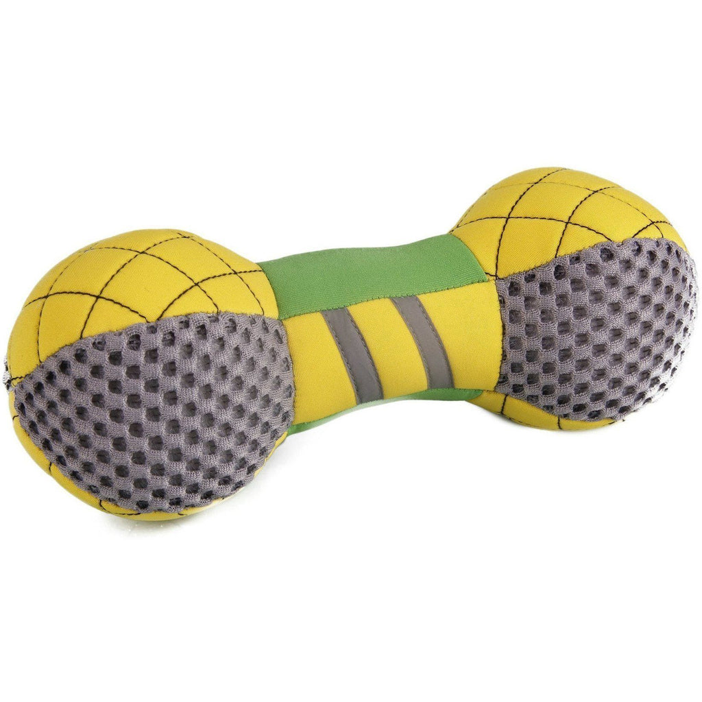 Pet Life ® 'Bark-Active' Neoprene Mesh Flotation Floating Waterproof Bone Fetch Pet Dog Toy Default Title