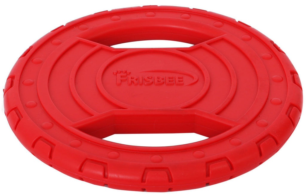Pet Life ® 'Denta-Toss' Frisbee Chew and Fetch Sporty Interactive Waterproof Floating Teether Pet Dog Toy Trainer