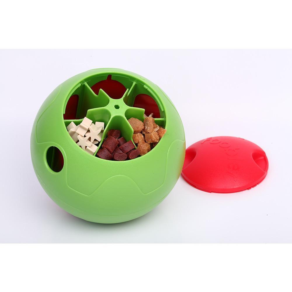 Pet Life ® 'Foobler' Self-Timed Self Reloading Automatic Puzzle Pet Dog Feeder Bowl Dispenser