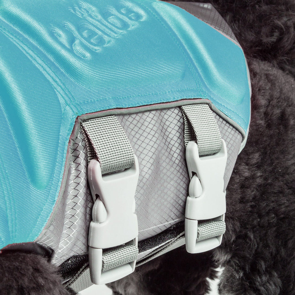 Dog Helios ® 'Tidal Guard' Multi-Point Strategically-Stitched Reflective Pet Dog Life Jacket Vest