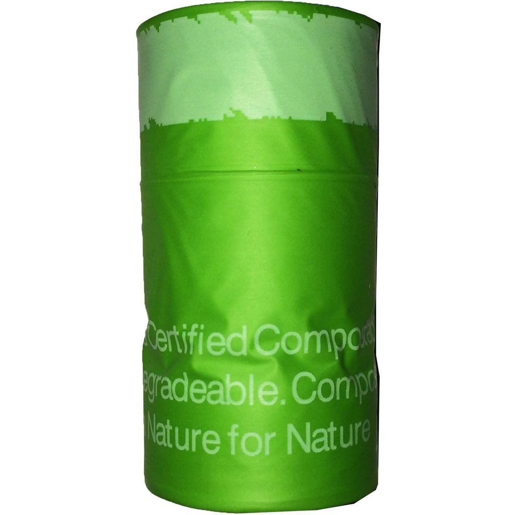 Pet Life ® 'Compostable' 100% Recyclable and Biodegradable Eco-Friendly Pet Cat Dog Waste Bags from Thermoplastic Starch