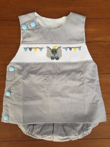 Dumbo Inspired Boy's Diaper Set 3 month