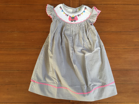 Dumbo Inspired Smocked Dress