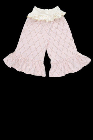 Persnickety Pretty in Pink Layette Bell Pant