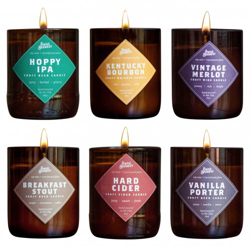 Brew Candle Variety (Beer/Whiskey/Wine)