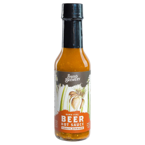 Garlic Serrano Beer-Infused Hot Sauce
