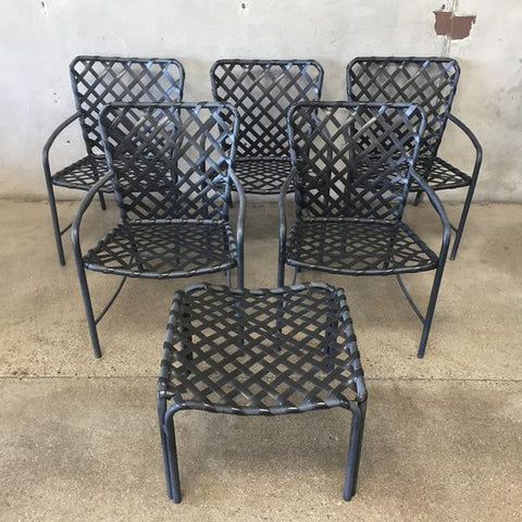 Charmant Vintage Brown Jordan Tamiami Patio Set