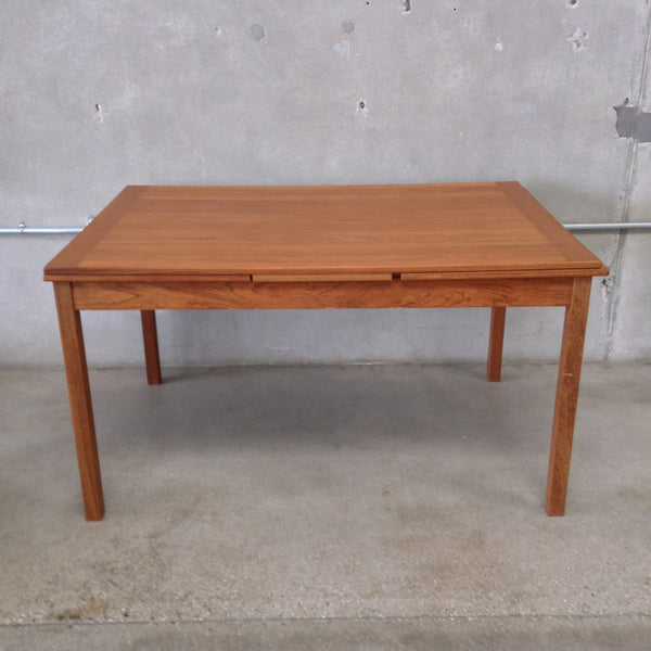 Mid Century Danish Teak Dining Table
