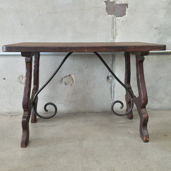 "Monterey Furniture Console Table ""Old Wood Finish"""