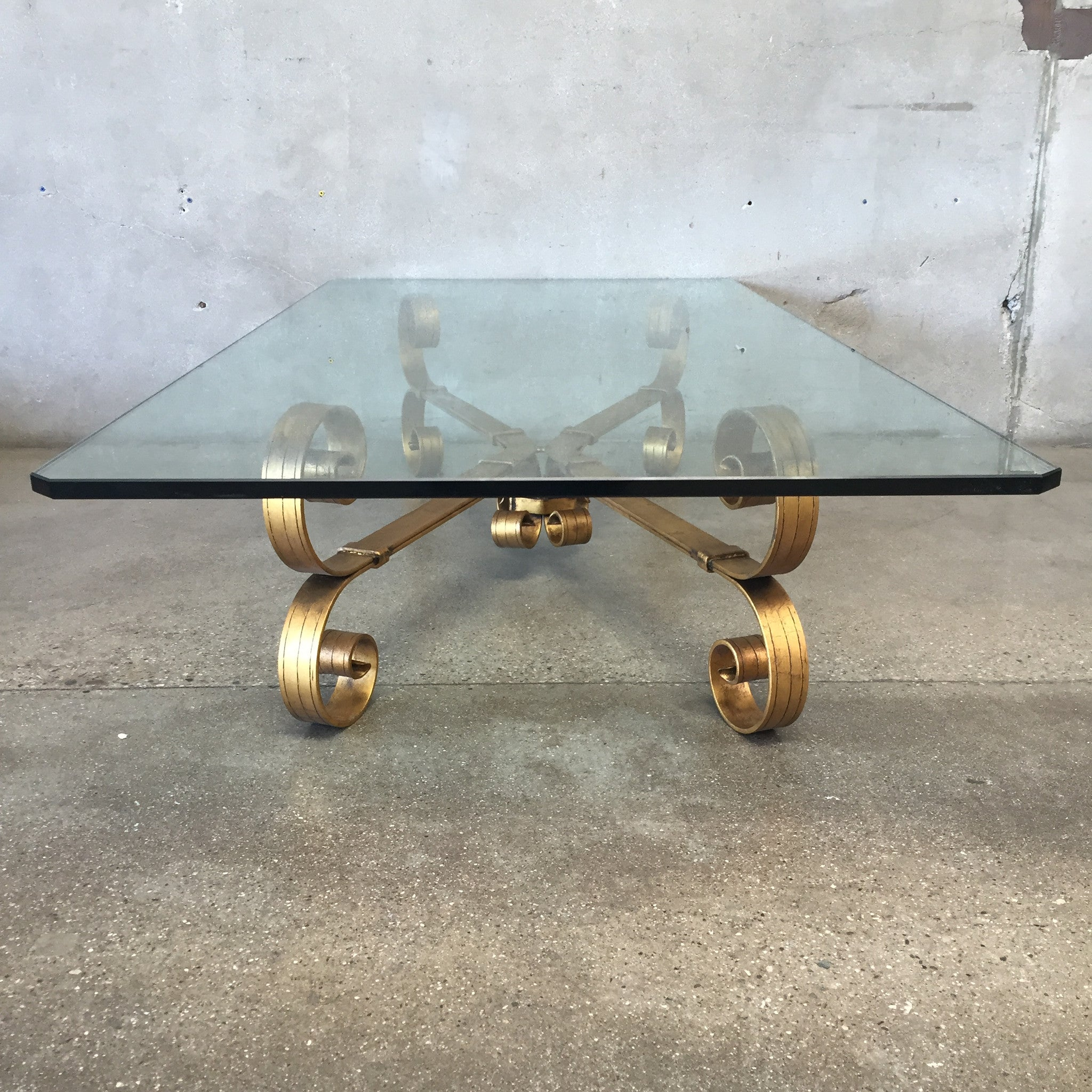 vintage hollywood regency coffee table u2013 urbanamericana