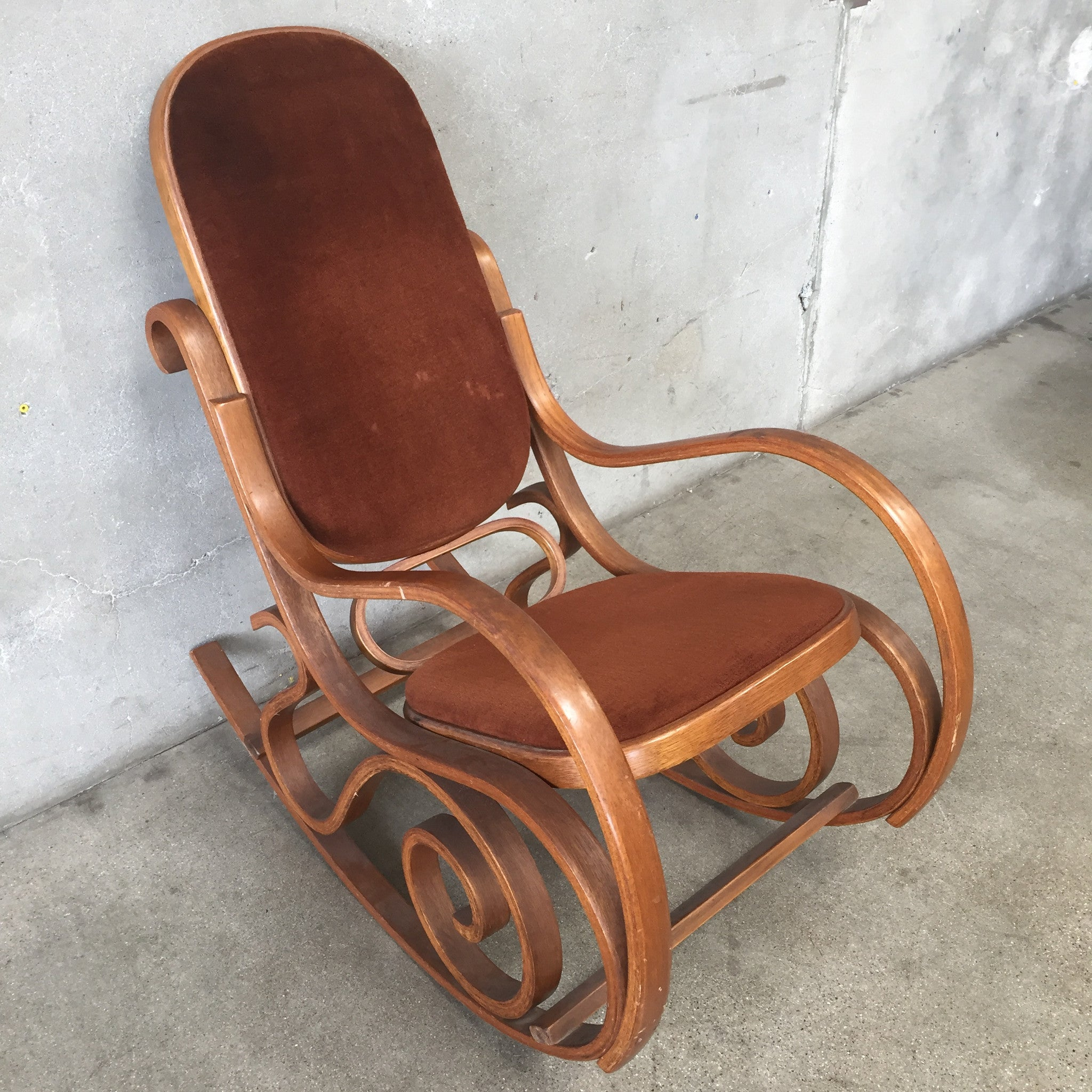 Bentwood rocking chair -  Vintage Bentwood Rocking Chair