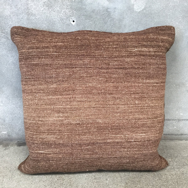 Kilim Pillow in Earhthtone Colors