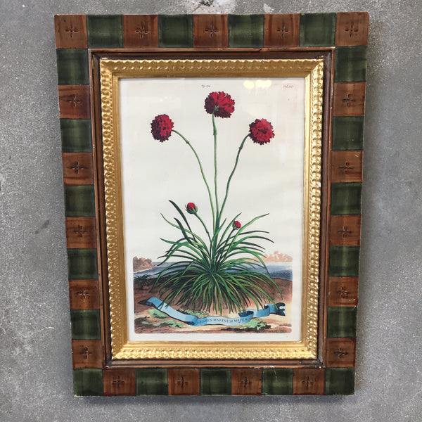 Antique Framed Botanical