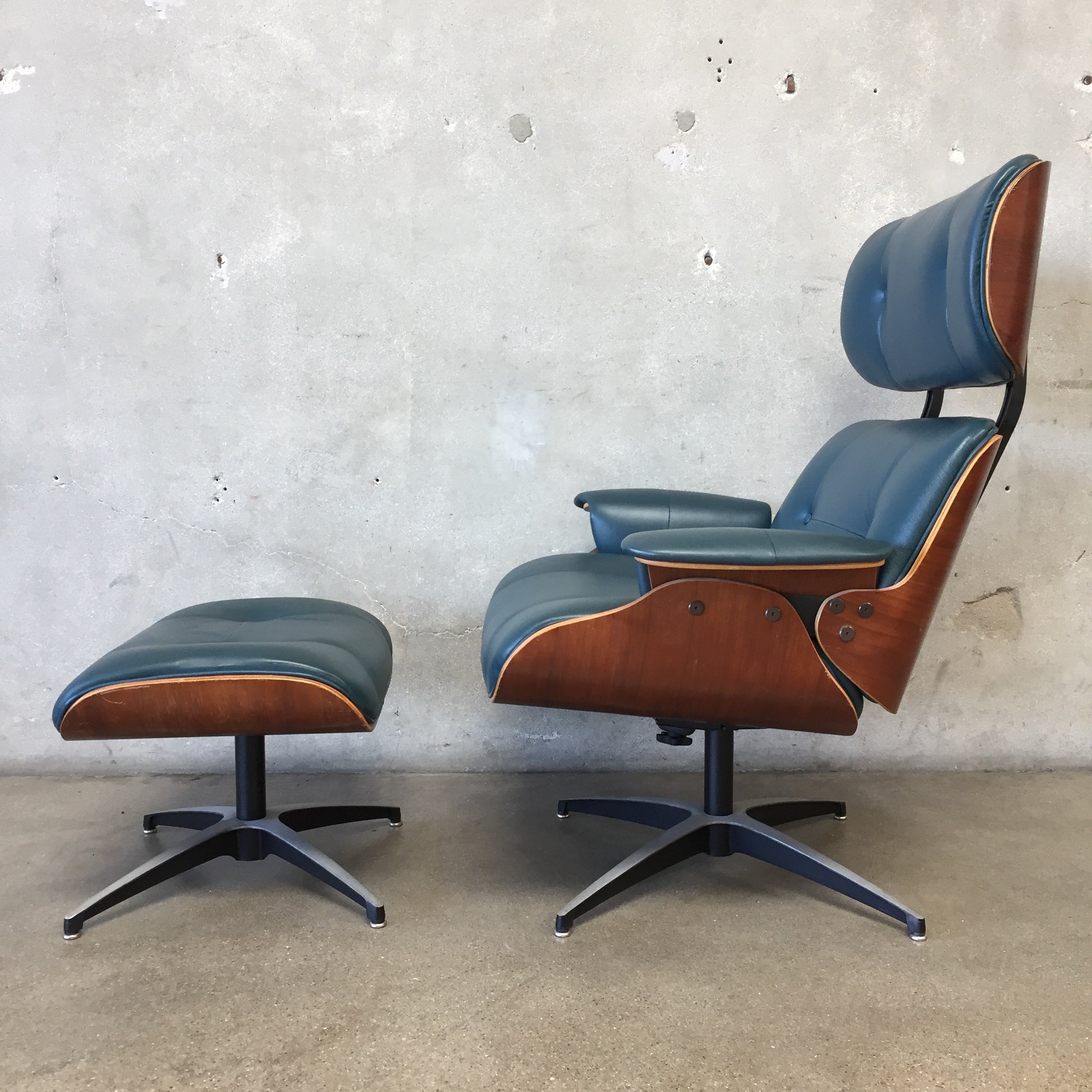 ... Frank Doerner Eames Style Lounge Chair U0026 Ottoman ...